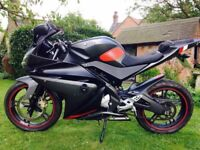 Yamaha Yzfr125 motorbike sports bike