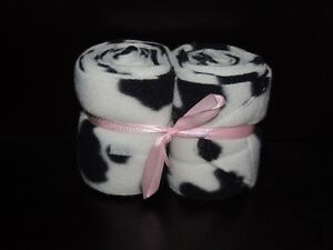 Custom Cow Print Horse Polo Wraps