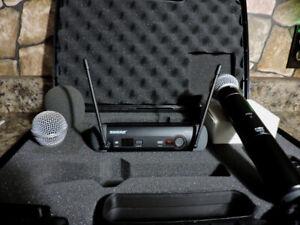 Microphone Shure PGX24 / SM58 sans fil