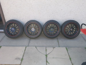 225/50R17 New rims and Rubber