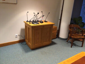 COUNCIL CHAMBER SET UP London Ontario image 7