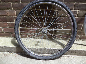 """bicycle wheels front, rear 26', 24 """""""