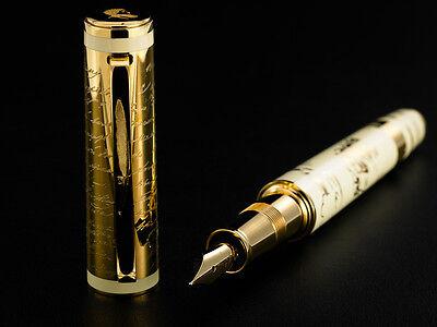 Omas 18K Solid Gold Aleksandr Pushkin Fountain Pen. Limited Edition 26. O09A0068