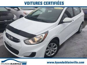 Hyundai Accent GL BLUETOOTH,BANCS CHAUFFANTS,A/C+ 2014