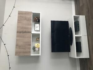 Meuble TV blanc à vendre