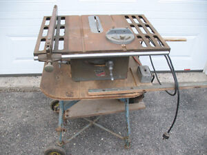 Craftmaster Table saw