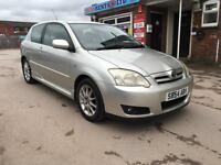 2004/54 Toyota Corolla 1.4 VVTI 3 DOOR FSH LONG MOT 2 KEYS
