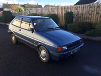 Wanted Ford Fiesta Mk1 or 2 (1976-1989) parts or complete cars, anything considered