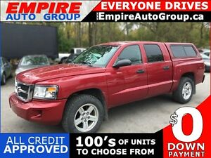 2008 DODGE DAKOTA SLT CREW CAB * 4WD * PREMIUM CLOTH SEATING