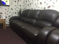 Sofa full leather 3-2 good condition