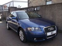08 08 AUDI A3 2.0TDI SPORTBACK SE 5DR 1 OWNER HEATED FULL LEATHER CRUISE CLIMATE