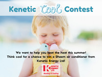Facebook Contest - Enter to win an air conditioner!