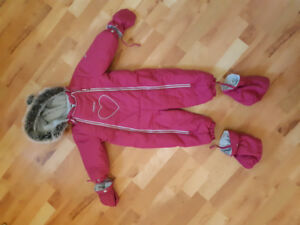 Toddler snowsuit (18M)