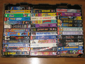 Anime VHS Collection Individual or Lot
