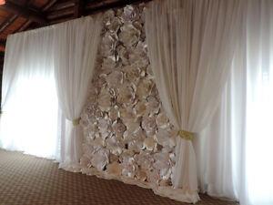 Wedding decor, backdrops, ceremony decor & linen rentals Edmonton Edmonton Area image 1