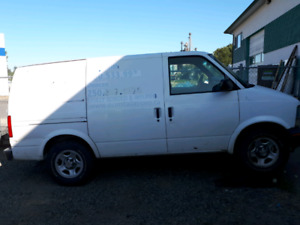 TRADE 2004 AWD ASTRO cargo van for dual sport motorcycle