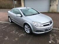 2007 Vauxhall Astra 1.8i 16v Coupe Twin Top Design Convertible Steel Silver