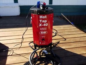 Zodi hot tap x 40 camp shower
