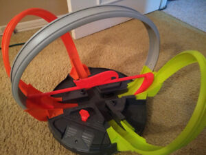 hot wheels track roto revolution