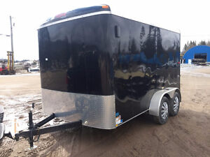 Used Enclosed Cargo Trailer at Premier Trailer