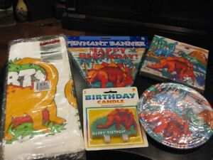 NEW Dinosaurs Party/Birthday Supplies and Stickers