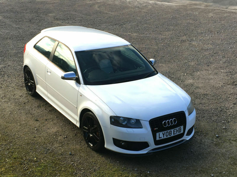 audi s3 2 0t fsi 2008 quattro ibis white optic pack px swap financ available in accrington. Black Bedroom Furniture Sets. Home Design Ideas