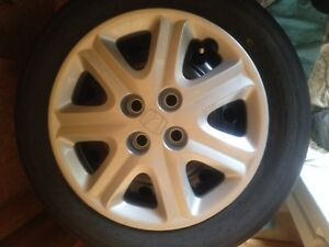 "Honda wheel covers 15"" OEM set 4 like new"
