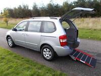 2010 10 Kia Sedona 2.2 CRDi WHEELCHAIR ACCESSIBLE DISABLED ACCESS MOBILITY CAR