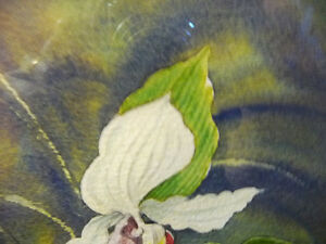 "Original Watercolor by Joan Tovey ""Lady's Slipper"" 1980's Stratford Kitchener Area image 7"