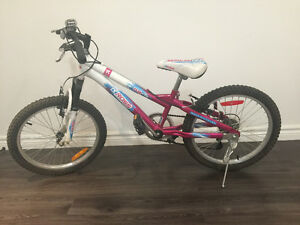 "Girls bike size 20"" good condition"