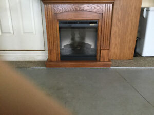 Indoor electric fire place