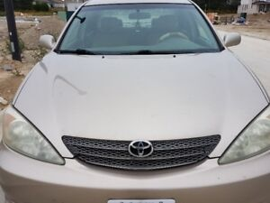 2002 Toyota Camry LE - low kms and priced to sell!