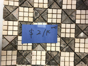 $1/pc only!!! mosaic tiles on CLEARANCE now!!