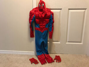 SpiderMan Costume (youth size 7/8)