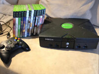 original xbox wiith many games