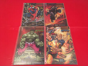 Marvel Masterpieces Collection (1993) 1-4 complete mini-series