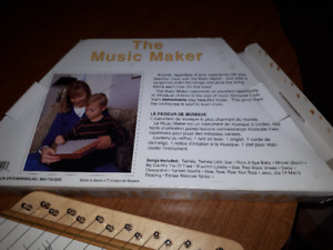 THE MUSIC MAKER HARP