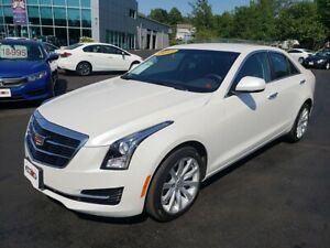 2017 Cadillac ATS 2.0T / AWD / Leather