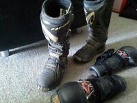 botte motocross vtt grandeur 8 d'homme