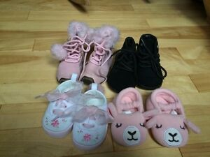 Baby girl shoes / boots size 2