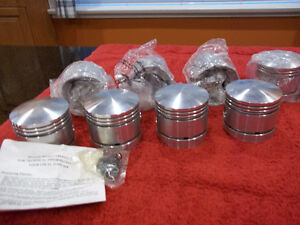 255 mercury flathead piston set