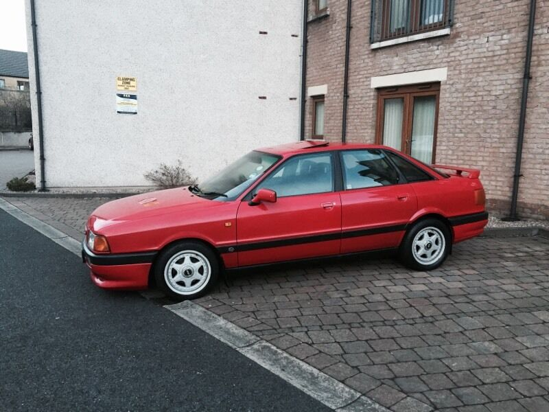 audi 80 sport edition rare car not many left 2 0 petrol a4 a4 b3 in stranmillis belfast gumtree. Black Bedroom Furniture Sets. Home Design Ideas