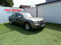 2007 56 CHRYSLER 300C 3.0CRD V6 SALOON,83000 MILEAS WITH FULL SERVICE HISTORY