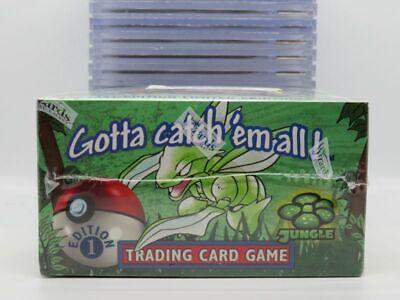 1999 WOTC Pokemon Jungle 1st Edition Original Sealed 36-Pack Booster Box