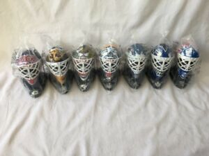 Macdonalds goalie masks 1996