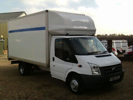 Ford Transit 350 LWB 13FT BOX WITH TAIL LIFT 115PS6 SPEED 61 REG