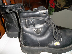 Mens Harley Davidson safety boots