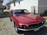 1969 Ford Mustang Coupe Sale or Trade