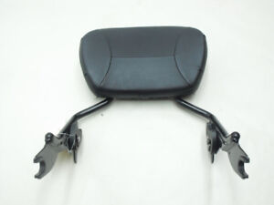Black Genuine HD Quick Detatch Passenger Backrest 09+ touring