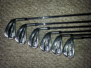 Callaway, XR Pro Irons, 5-PW, Right Hand, Stiff Flex
